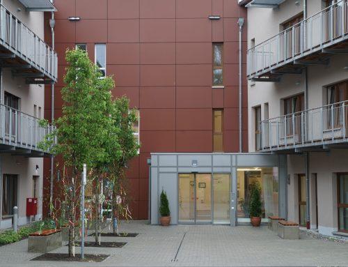 Vitalis Senioren-Zentrum St. Thekla in Welden: Bisher sehr gut durch die Corona-Pandemie gekommen.