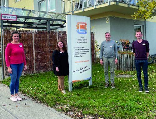Das Team des Vitalis Senioren-Zentrums Maria-Magdalena in Germering stellt sich vor