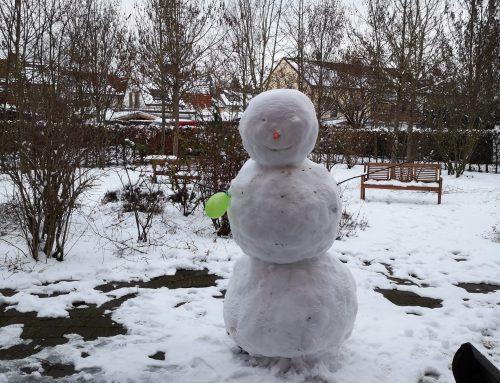 Wunderschöne Schneemänner