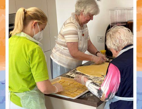 Ostervorbereitungen im Senioren-Zentrum Reinhardswald