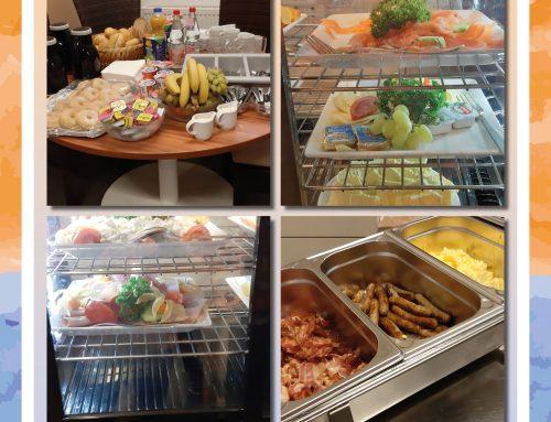 Mitarbeiterfrühstück im Senioren-Zentrum Lukas