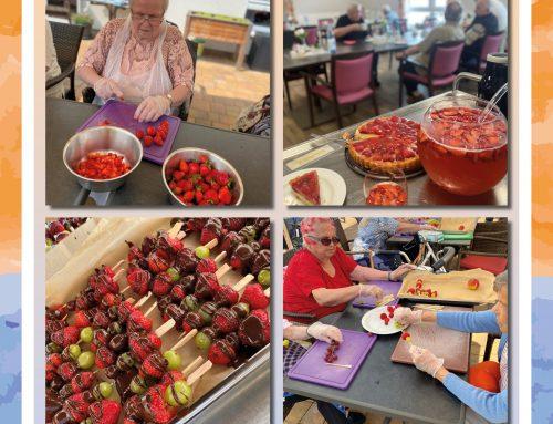 Erdbeerfest im Senioren-Zentrum Reinhardswald