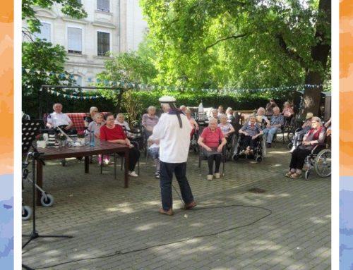 Gartenfest im Senioren-Zentrum Lukas