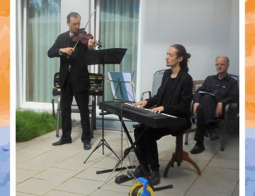 Konzert auf der Terrasse