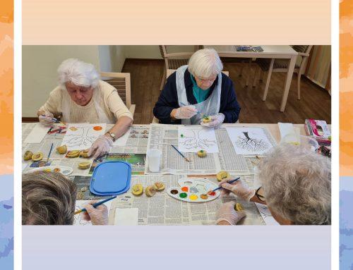 Herbstbasteln im Senioren-Zentrum Lukas